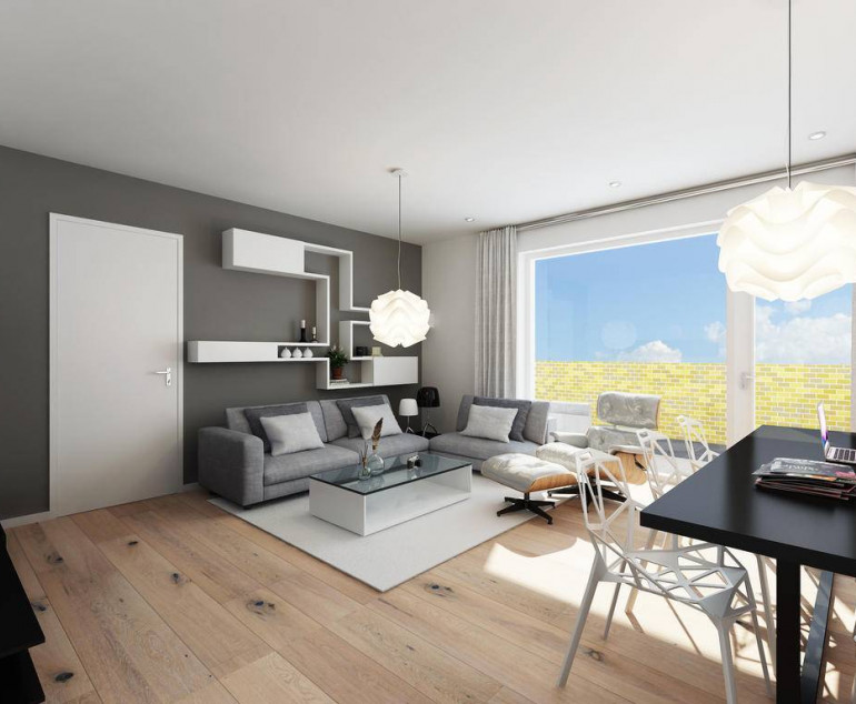 2-Kamer appartement type F | Banneplein blok 3a en 3b | Nieuwbouw ...